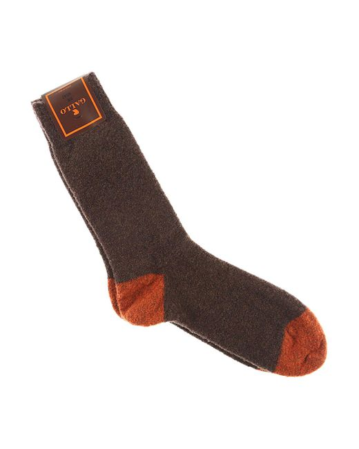 Gallo - Brown Socks For Men for Men - Lyst