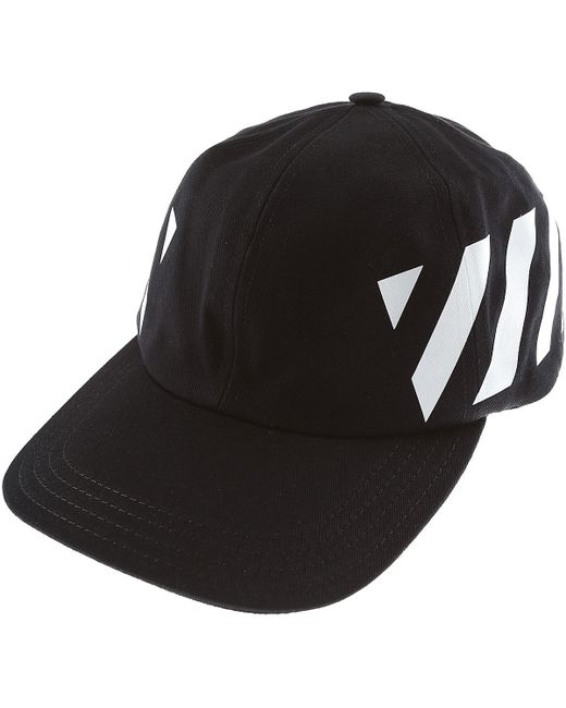 02795d2d5cc Lyst - Off-White c o Virgil Abloh Hat For Women in Black for Men