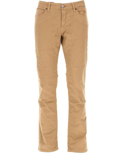 Jeckerson - Natural Pants Men for Men - Lyst