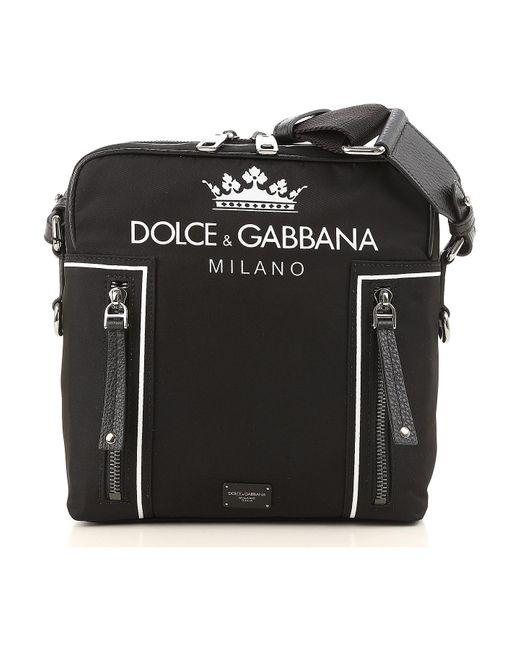 Lyst - Dolce   Gabbana Logo Print Crossbody in Black for Men - Save 51% 0a4162510b