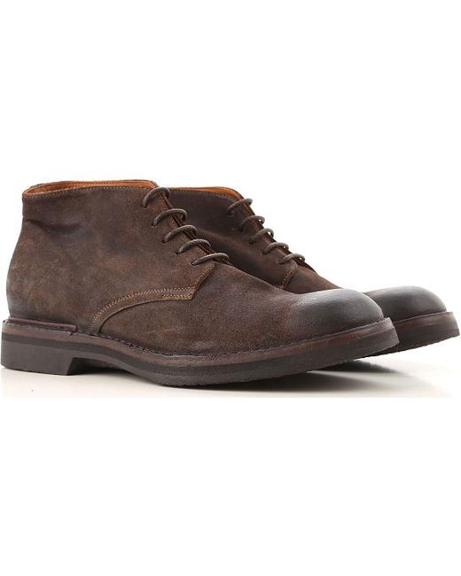 Pantanetti - Brown Boots For Men for Men - Lyst