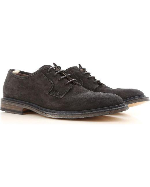 890fcbc2e4e13 Officine Creative - Black Lace Up Shoes For Men Oxfords for Men - Lyst ...