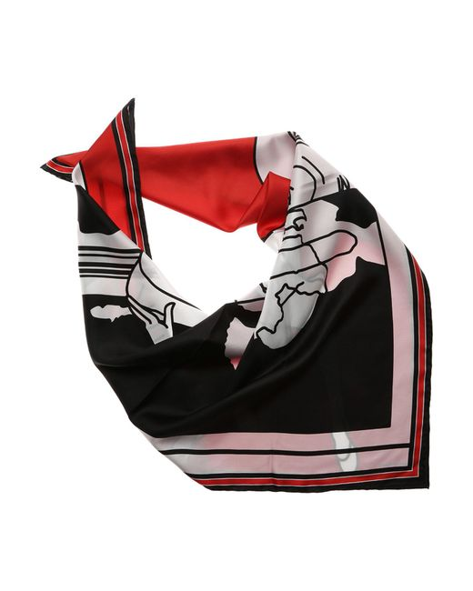Givenchy - Red Scarf For Women On Sale - Lyst