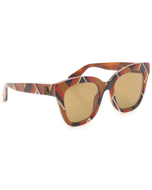 Gucci - Brown Sunglasses - Lyst