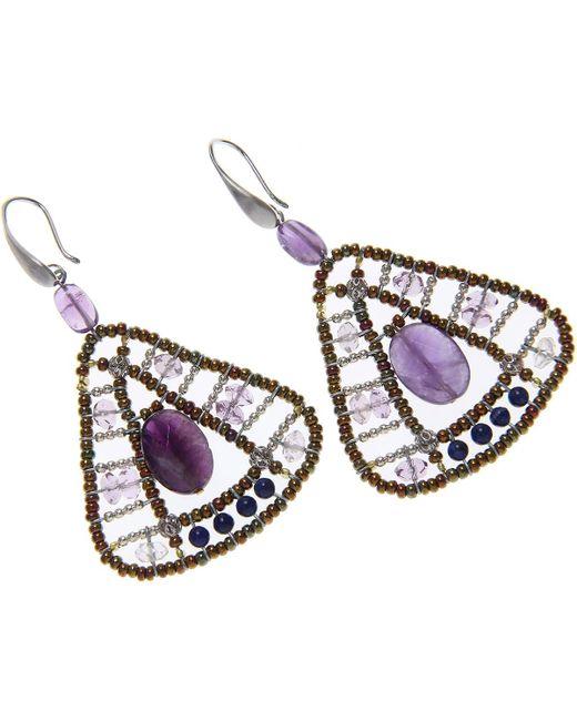 Ziio Jewellery - Blue Earrings For Women - Lyst
