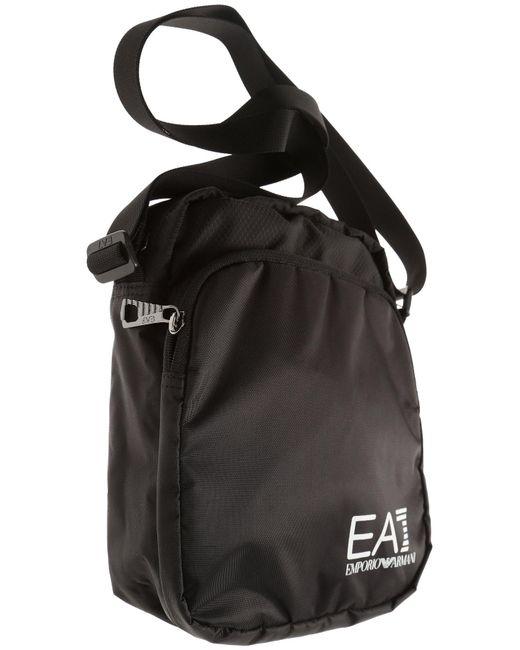 d3269abd33a ... Emporio Armani - Black Messenger Bag For Men On Sale for Men - Lyst ...