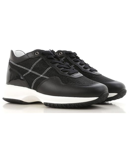Hogan - Black Sneakers For Women - Lyst