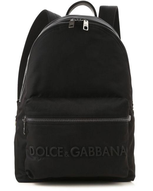ac1770e53d Sac à Dos Homme Dolce & Gabbana pour homme en coloris Noir - Lyst