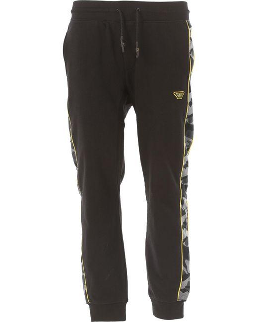 Emporio Armani - Black Clothing For Men for Men - Lyst