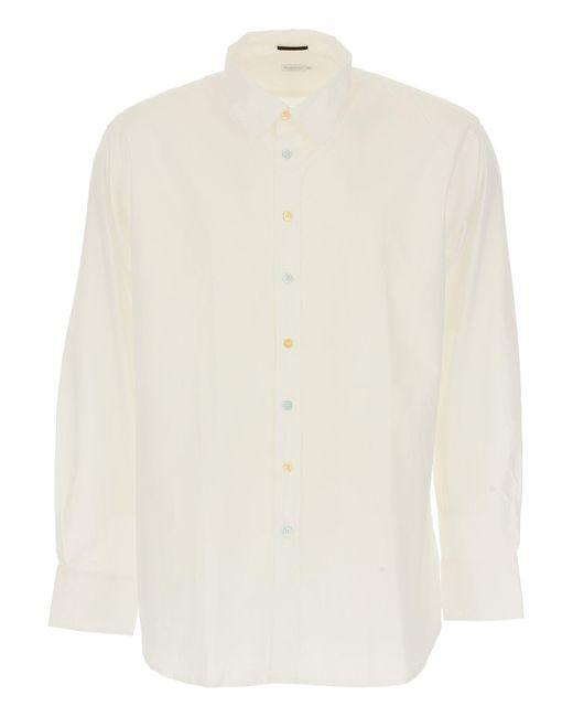 Paul Smith - White Shirt For Men for Men - Lyst