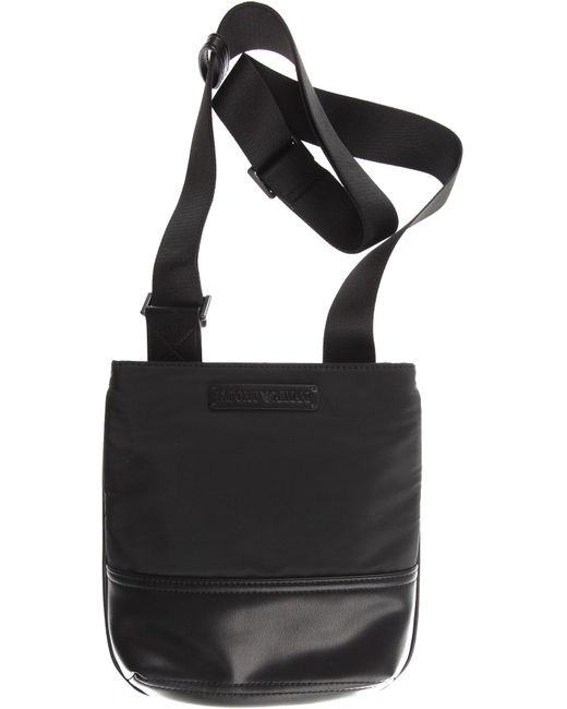 a0f7cb26a12b Emporio Armani - Black Bags For Men for Men - Lyst ...