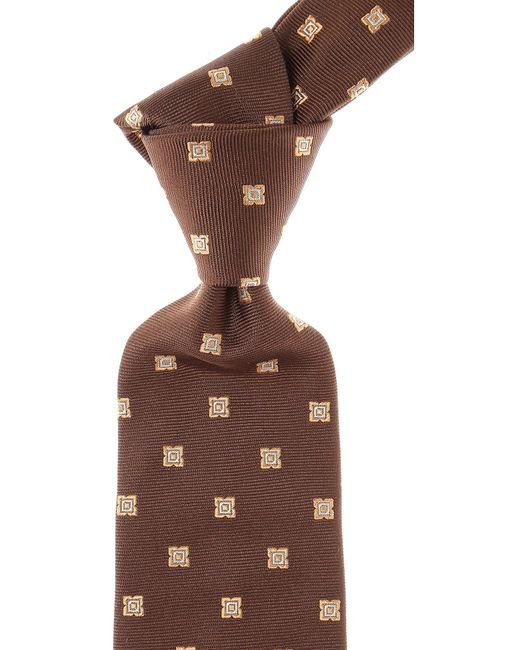 Moschino - Brown Ties On Sale for Men - Lyst