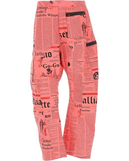 John Galliano - Red Clothing For Men for Men - Lyst