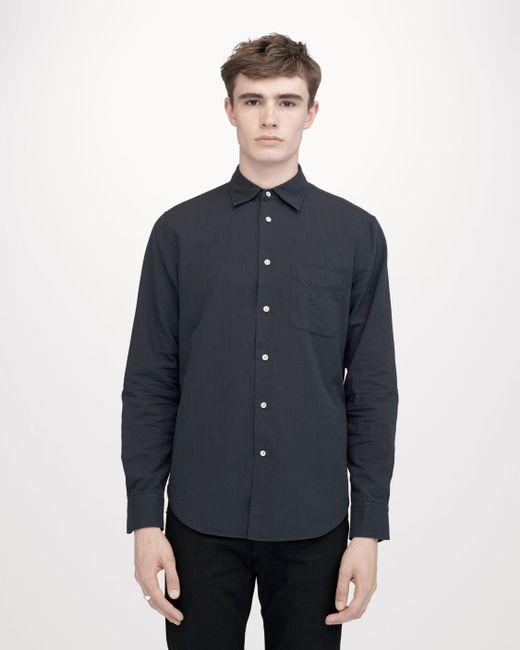 Rag & Bone - Blue Standard Issue Beach Shirt for Men - Lyst