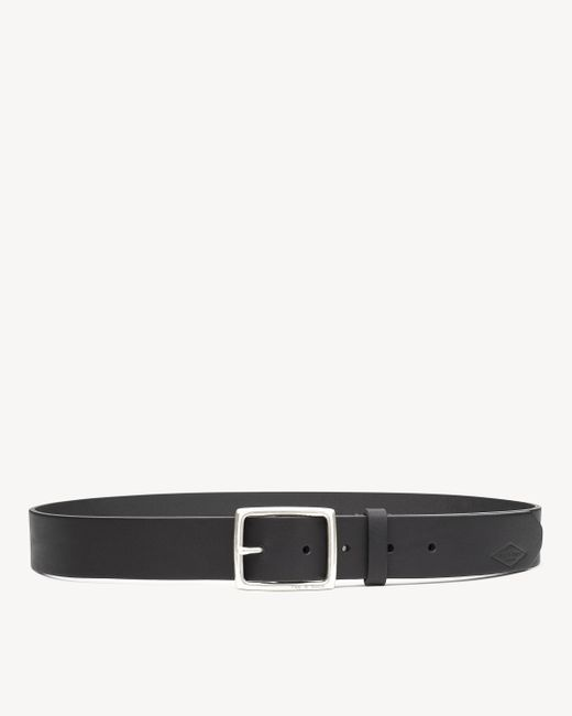 Rag & Bone | Black Rugged Belt Brass for Men | Lyst