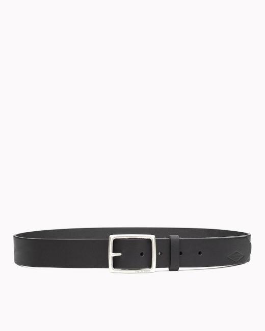 Rag & Bone - Black Rugged Belt Brass for Men - Lyst
