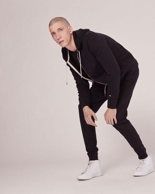 Rag & Bone | Black Standard Issue Zip Hoody for Men | Lyst
