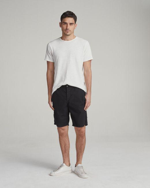 Rag & Bone - Black Standard Issue Chino Short for Men - Lyst