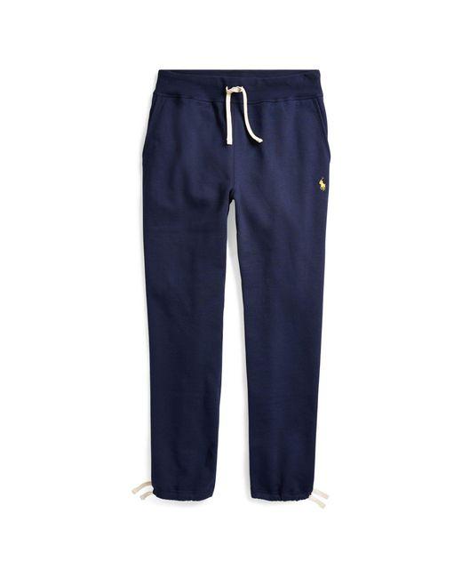 Polo Ralph Lauren - Blue Cotton-blend-fleece Pant for Men - Lyst