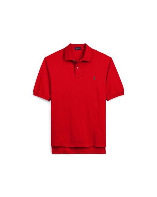 Pink Pony - Red Classic Fit Mesh Polo Shirt for Men - Lyst