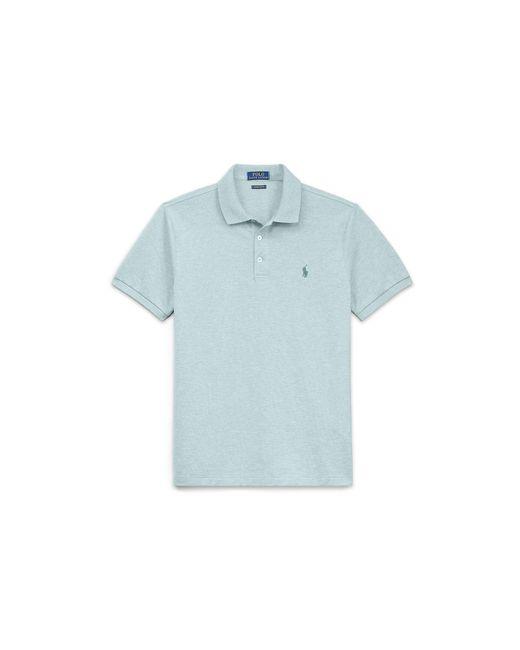 Polo Ralph Lauren | Blue Custom Slim Stretch Mesh Polo for Men | Lyst