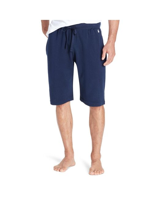 Polo Ralph Lauren | Blue Waffle-knit Pajama Short for Men | Lyst