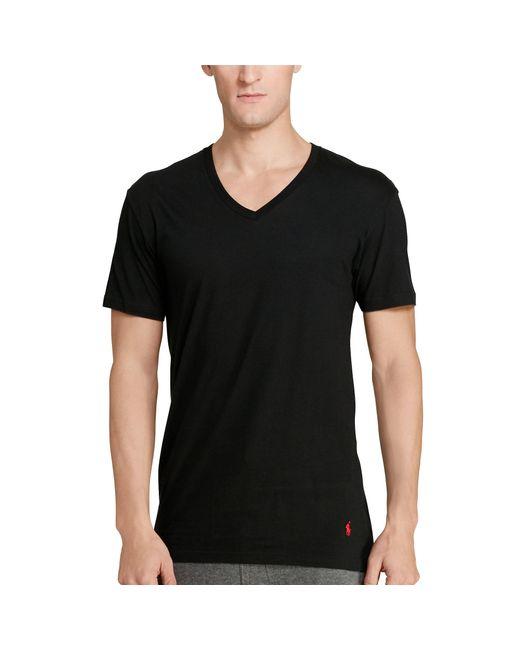 Polo Ralph Lauren | Black Classic V-neck 3-pack for Men | Lyst