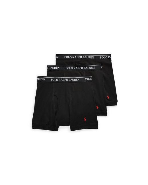Polo Ralph Lauren | Black Boxer Brief 3-pack for Men | Lyst