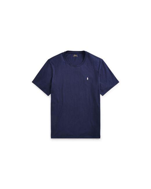 Polo Ralph Lauren   Blue Cotton Jersey Crew T-shirt for Men   Lyst