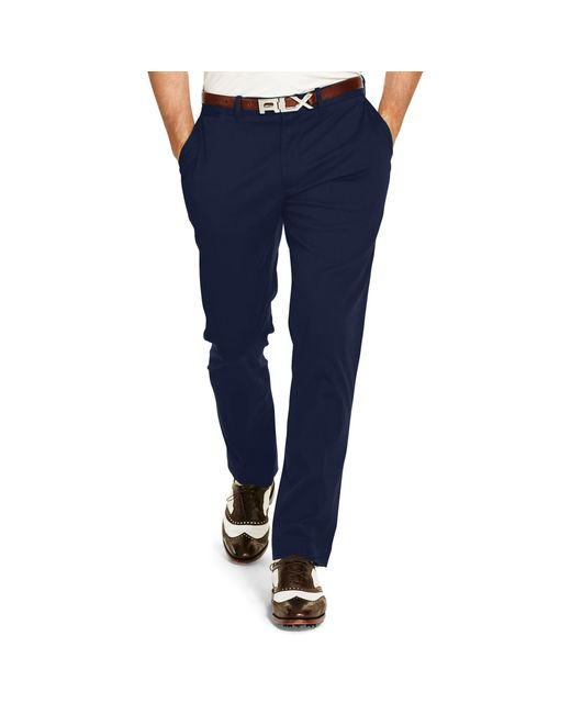 Pink Pony   Blue Stretch Chino Pant for Men   Lyst
