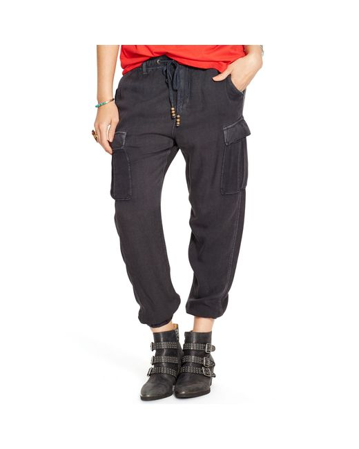 Denim & Supply Ralph Lauren | Gray Washed Cargo Pant | Lyst