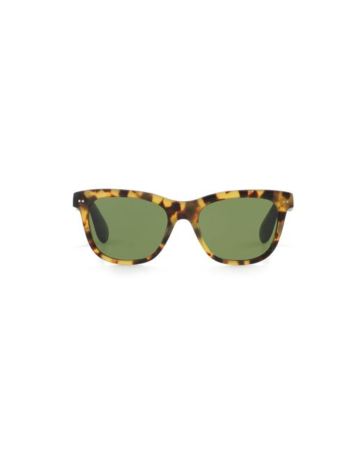 Pink Pony | Green Square Sunglasses | Lyst