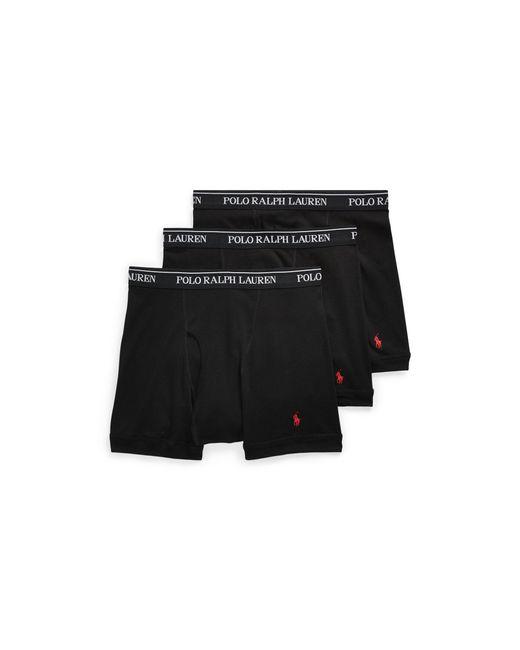 Polo Ralph Lauren - Black Boxer Brief 3-pack for Men - Lyst