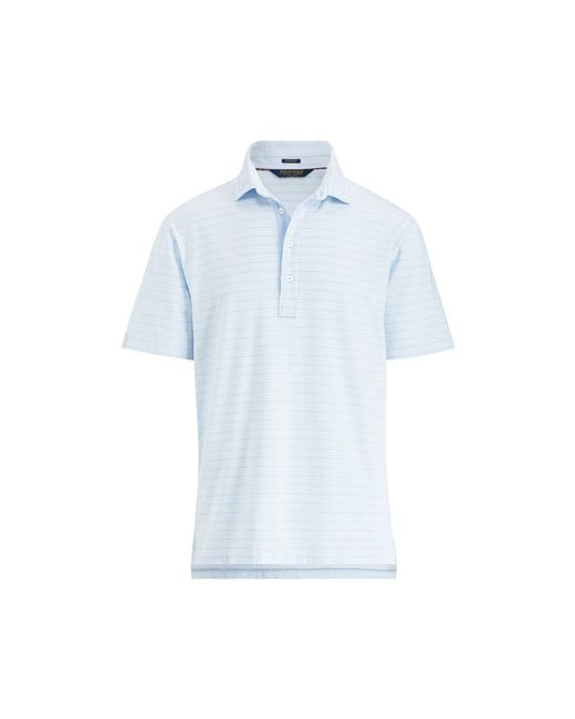 Polo Ralph Lauren - Blue Active Fit Stretch Lisle Polo for Men - Lyst