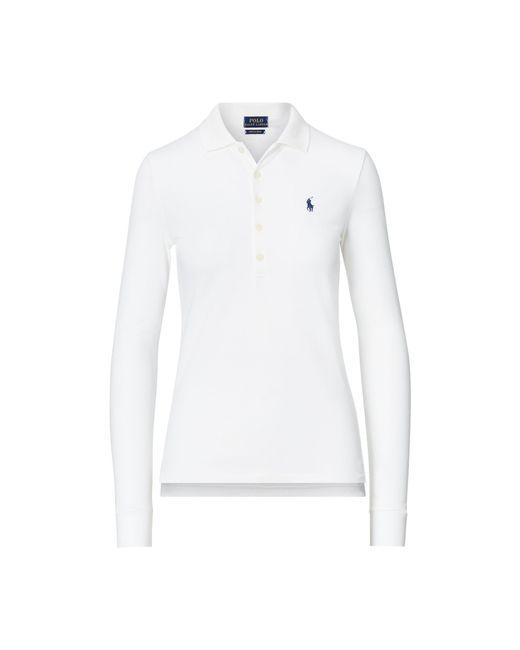 Polo Ralph Lauren   White Cotton V-neck Tee   Lyst