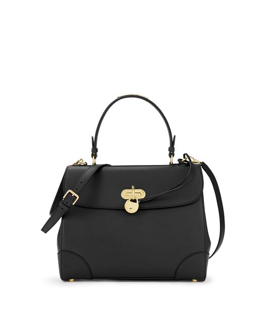 Ralph Lauren | Black Calfskin Tiffin 33 | Lyst