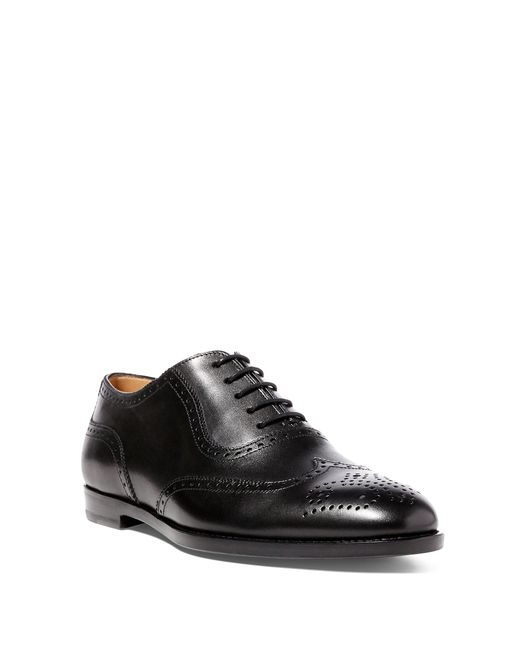 Pink Pony | Black Quintin Calfskin Oxford | Lyst