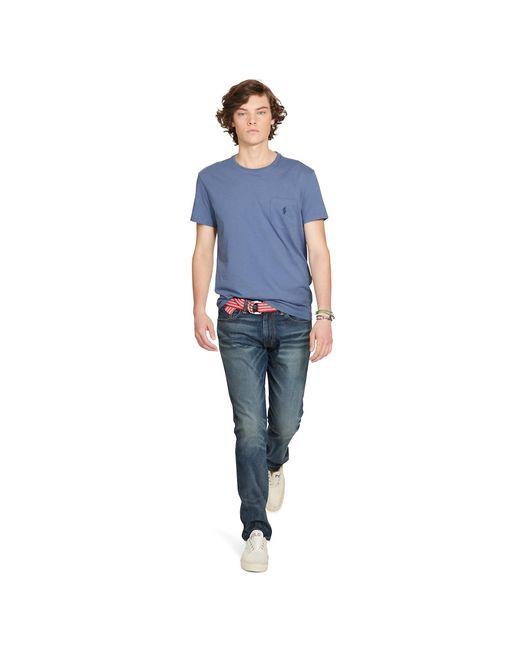 Polo Ralph Lauren | Blue Classic-fit Cotton Pocket Tee for Men | Lyst