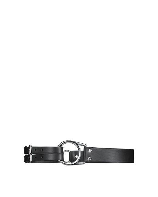 Ralph Lauren - Black Leather Tri-strap Belt - Lyst