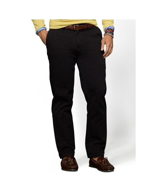 Polo Ralph Lauren | Black Classic-fit Essential Chino for Men | Lyst