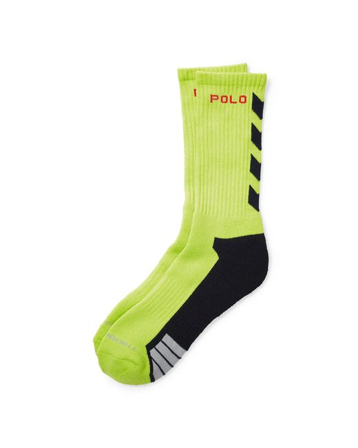 Pink Pony | Green Thermovent Crew Socks for Men | Lyst
