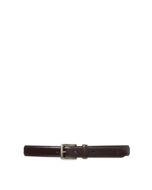 Polo Ralph Lauren   Brown Leather Suffield Belt for Men   Lyst