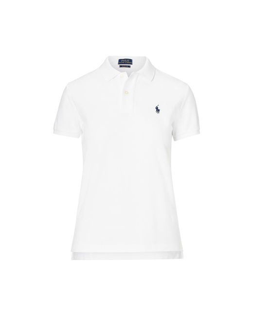 Polo Ralph Lauren - White Classic Fit Mesh Polo Shirt - Lyst