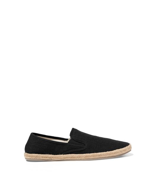 polo ralph lauren swittle linen blend espadrille in black for men save 27 lyst. Black Bedroom Furniture Sets. Home Design Ideas