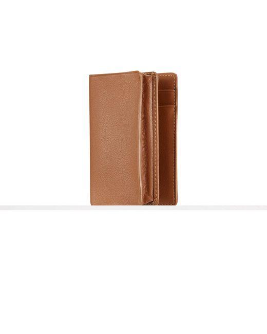 Ralph Lauren | Brown Soft Gents Gusseted Card Case | Lyst