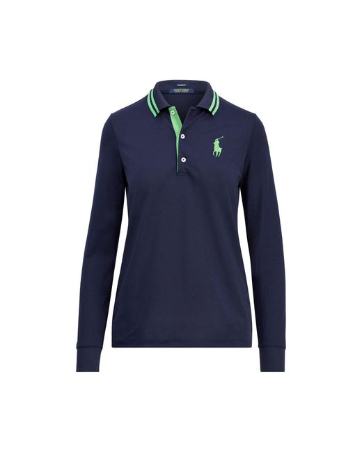 Ralph Lauren Golf | Blue Tailored Fit Big Pony Polo | Lyst