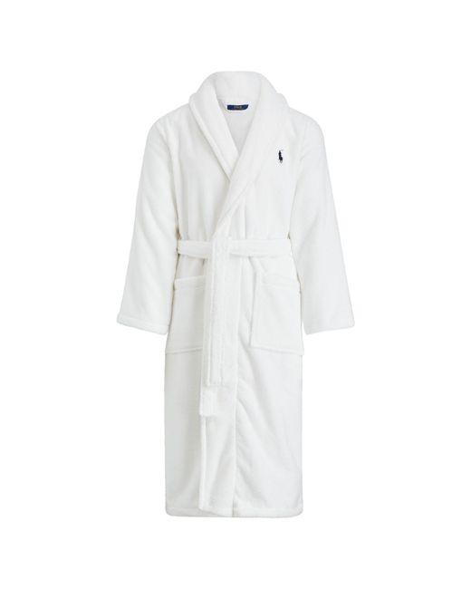 Polo Ralph Lauren   White Shawl-collar Robe for Men   Lyst