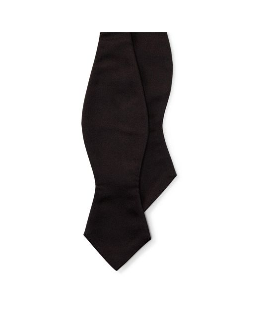 Polo Ralph Lauren - Black Silk Satin Spencer Bow Tie for Men - Lyst