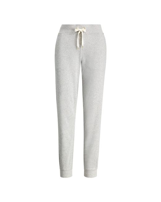 Ralph Lauren - Gray French Terry Cotton Jogger - Lyst