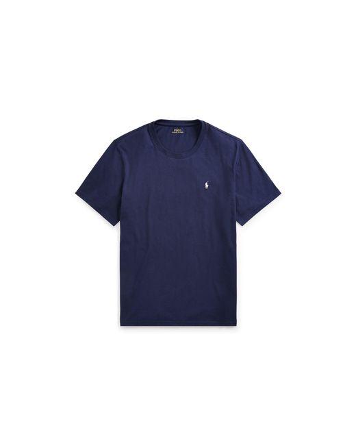 Polo Ralph Lauren | Blue Cotton Jersey Crew T-shirt for Men | Lyst